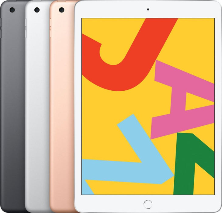 Apple - iPad (Latest Model) with Wi-Fi + Cellular - 128GB (Unlocked) - Space Gray Model:MW702LL/A