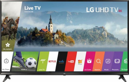"LG - 75"" Class - LED - UJ6470 Series - 2160p - Smart - 4K UHD TV with HDR"