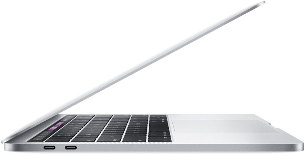 "Apple - MacBook Pro - 13"" Display with Touch Bar - Intel Core i5 - 8GB Memory - 128GB SSD (Latest Model) - Silver Model:MUHQ2LL/A"