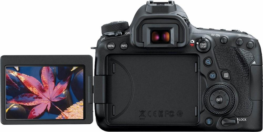 Canon - EOS 6D Mark II DSLR Camera (Body Only)