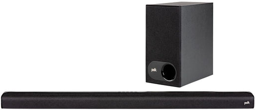 "Polk Audio - 2.1-Channel Soundbar System with 5-1/4"" Wireless Subwoofer - Black Model:SIGNA S2 SYSTEM"