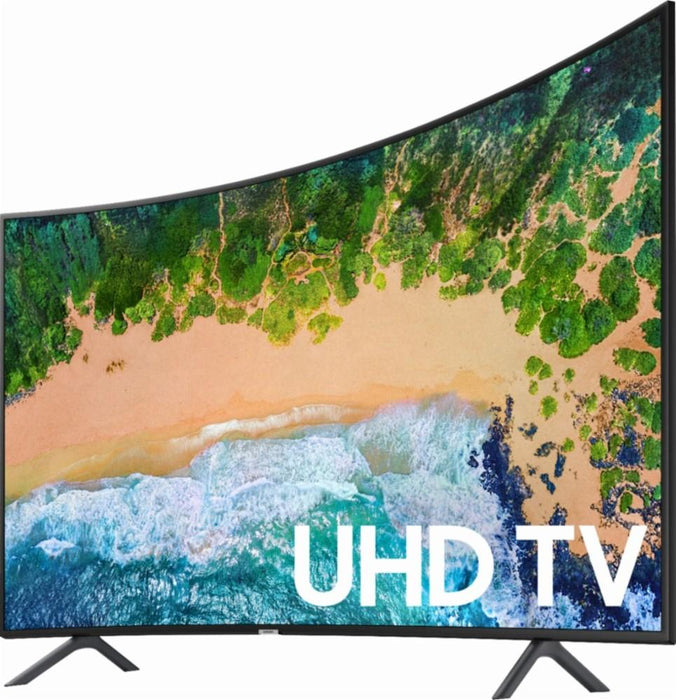 "Samsung - 65"" Class - LED - NU7300 Series - Curved - 2160p - Smart - 4K UHD TV with HDR"