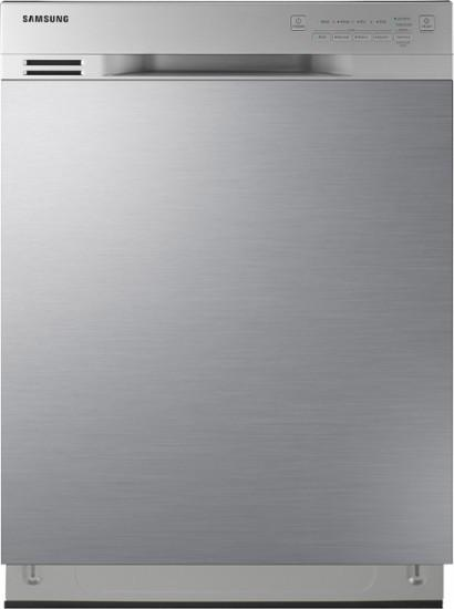 "Samsung - 24"" Front Control Built-In Dishwasher - Stainless steel Model:DW80N3030US"