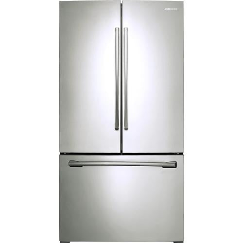 Samsung - 25.5 Cu. Ft. French Door Refrigerator - Stainless-Steel Model: RF260BEAESR