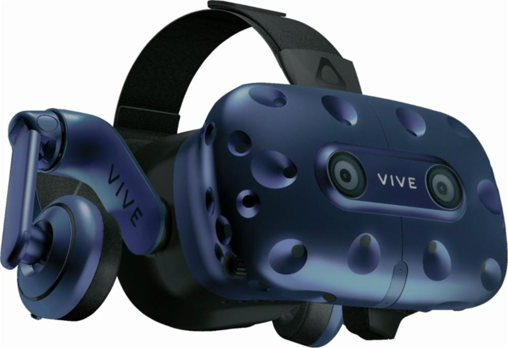 HTC - VIVE Pro Headset for Compatible Windows PCs (HMD Only) Model:99HANW01500