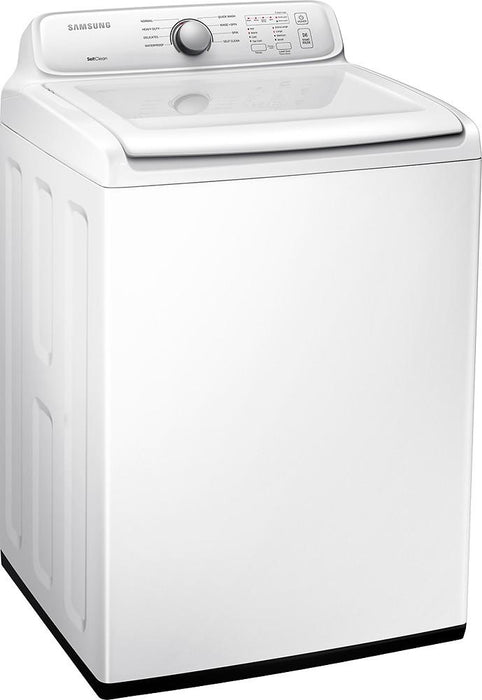 Samsung - 4.0 Cu. Ft. 8-Cycle High-Efficiency Top-Loading Washer - White