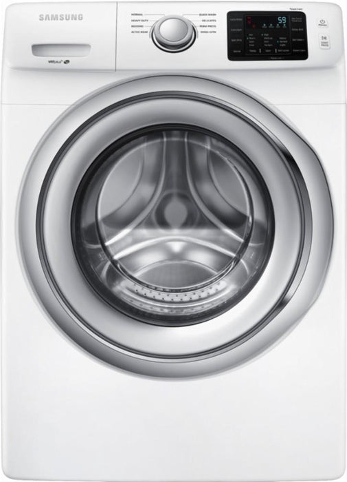 Samsung - 4.5 Cu. Ft. 8-Cycle Front-Loading Washer - White