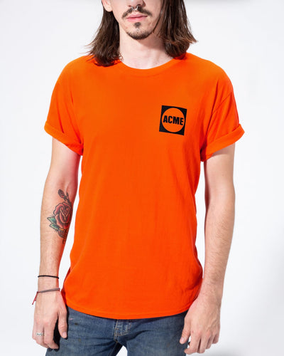 ACME Logo T-shirt, Orange