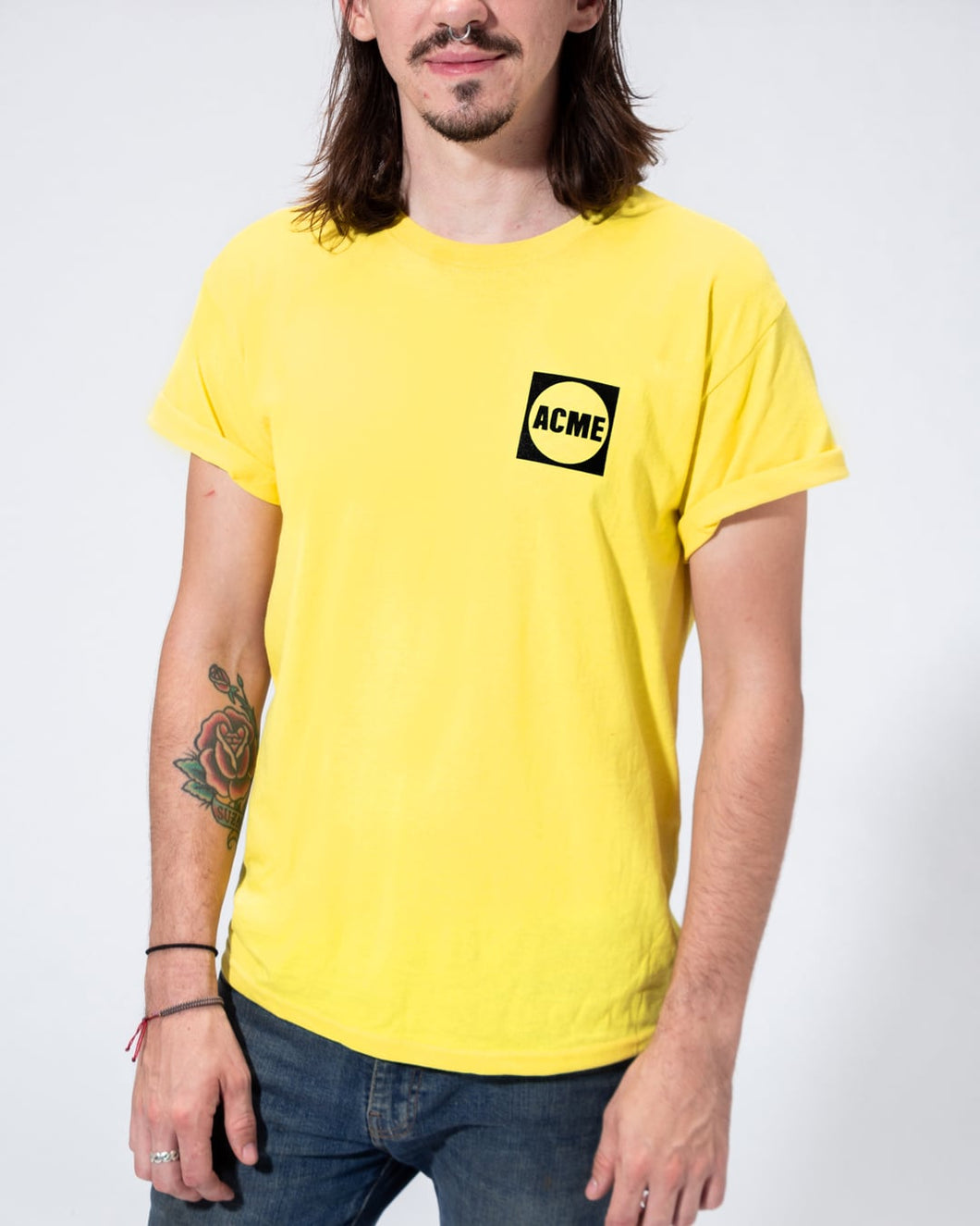 ACME Logo T-shirt, Yellow