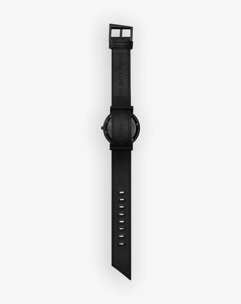Silent Side zip Watch