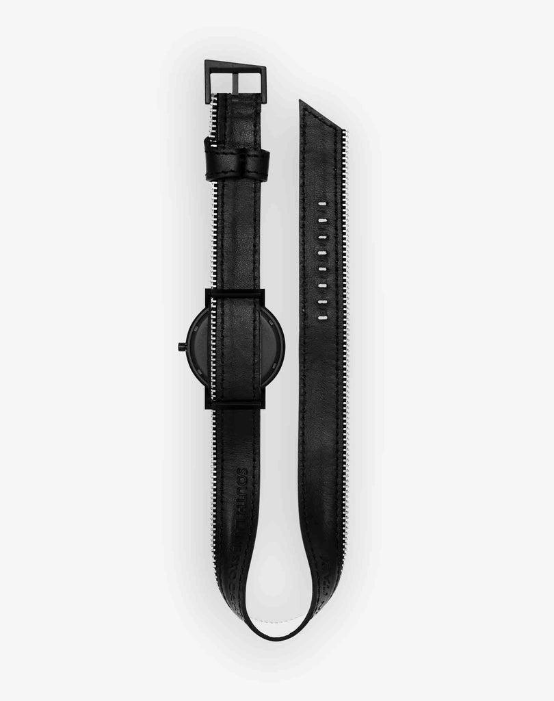 Silent Double side zip Watch