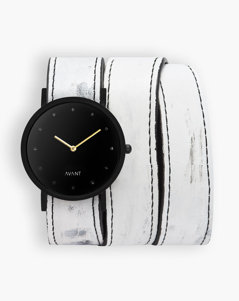 AVANT Pure Triple White Watch