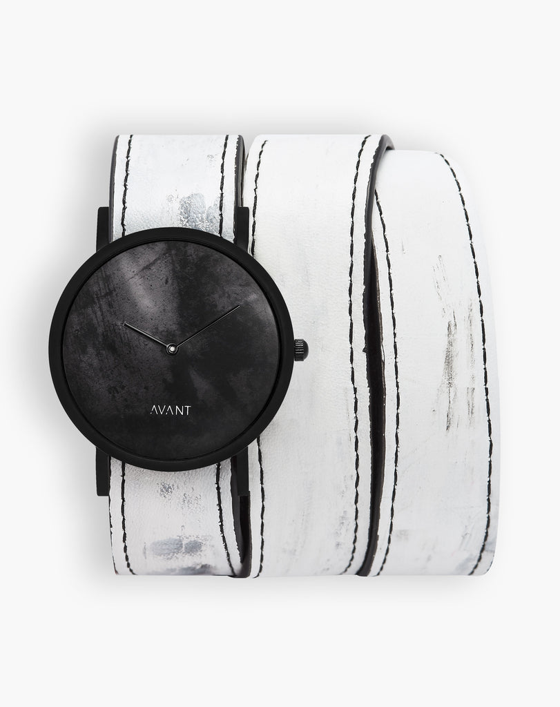 AVANT Diffuse Triple White Watch