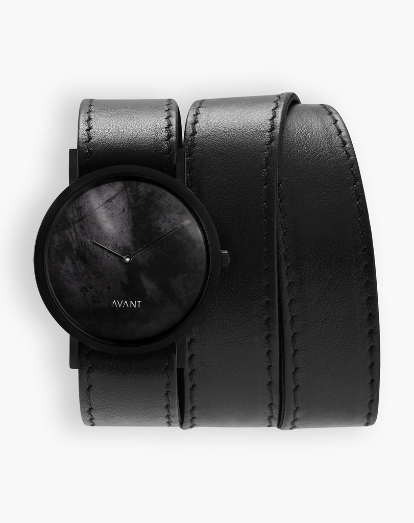 AVANT Diffuse Triple black Watch