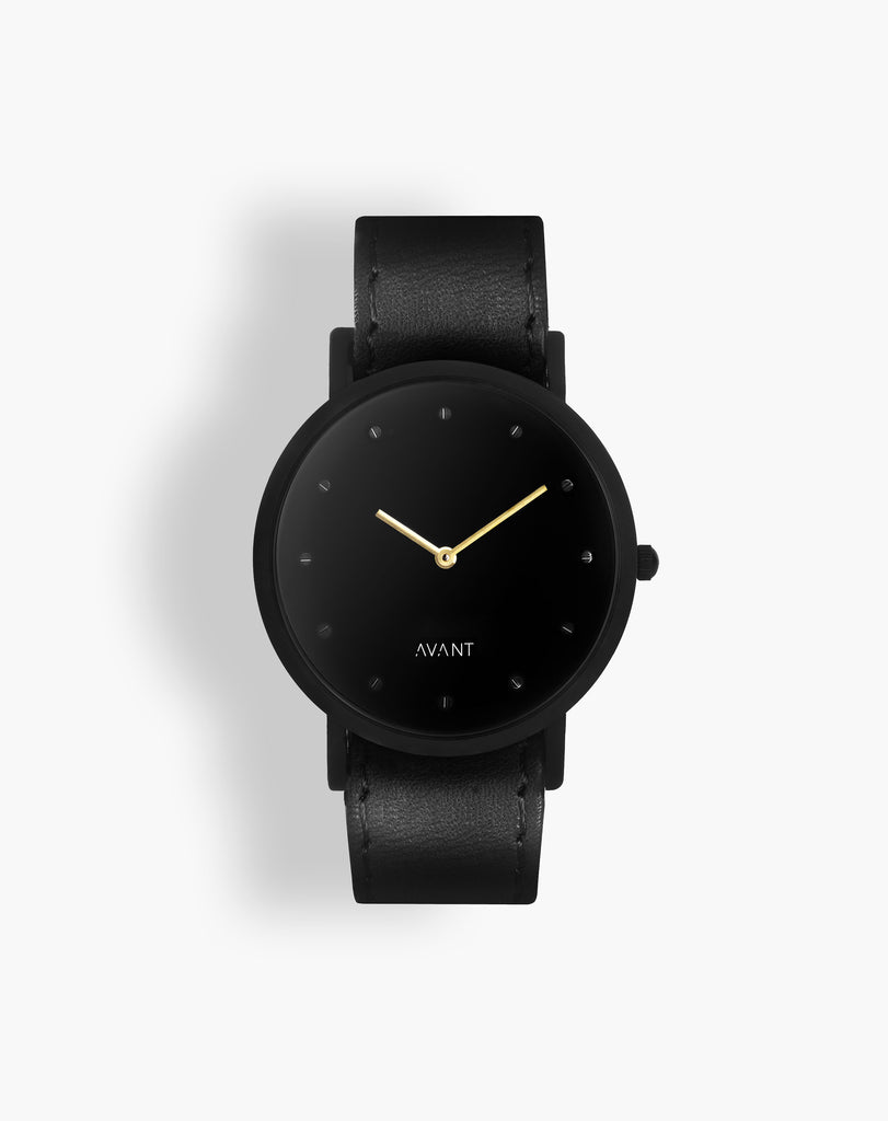 AVANT Pure Black Watch