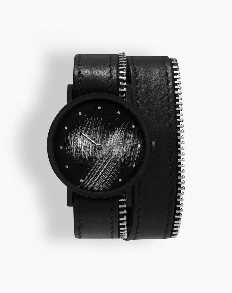 Surface Double side zip Watch