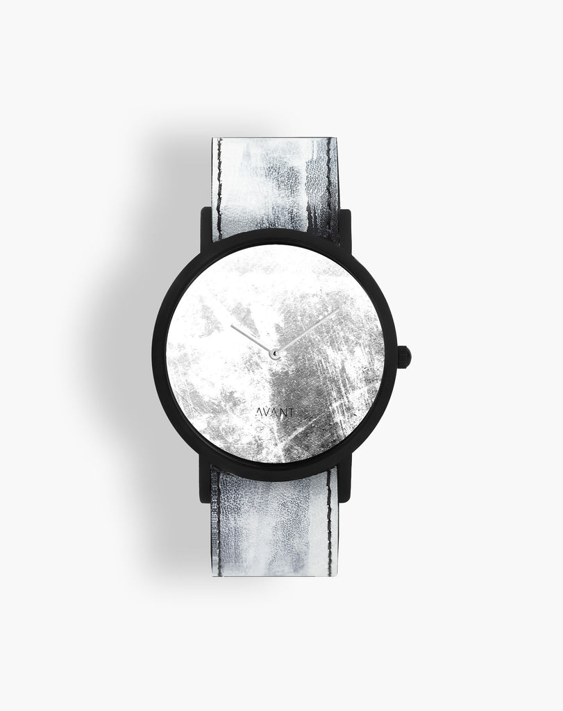 Diffuse Invert White Watch