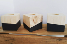 Wood Block Tealight Holder