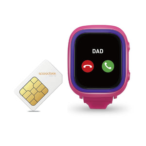 TickTalk 2.0 Pink GPS Smart Phone Watch