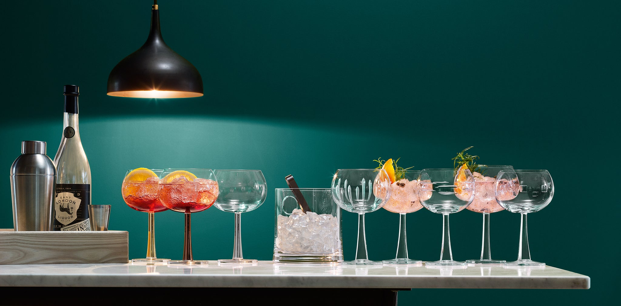 LSA Gin Collection Glasses at Opaque Aberdeen