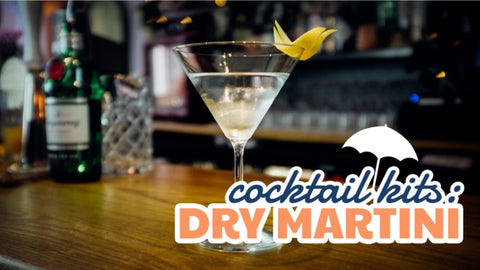 Dry Martini - Cocktail Equipment