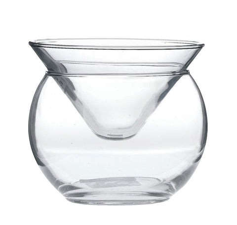 Bubble 2 Piece 170ml Dessert & Cocktail Glass (set of 6 )