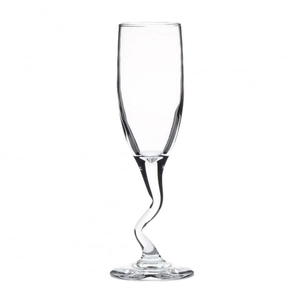 Z Stem Flute Glass 170ml ( single glass)