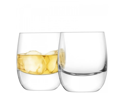 BAR Whisky Tumbler X 2 275ml