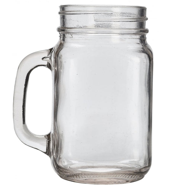 680ml Mason Jars with Lids | Pack of 6