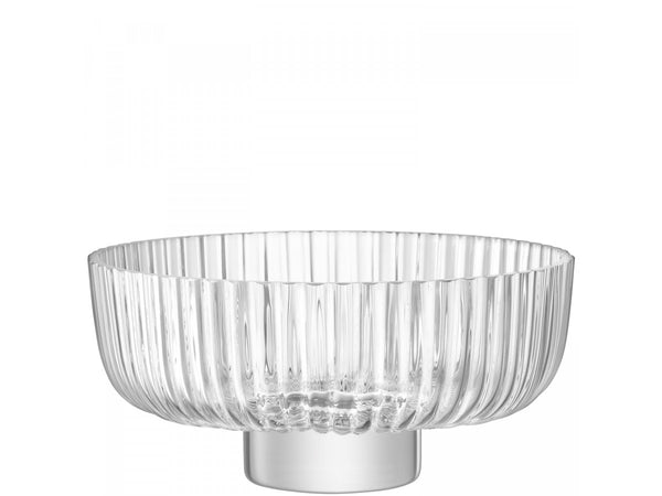 PLEAT Footed Bowl dia:28.5cm