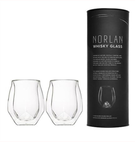 Norlan Whisky Glass (Set of Two)