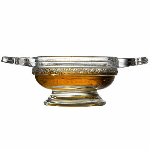 Glass Quaich Bowl