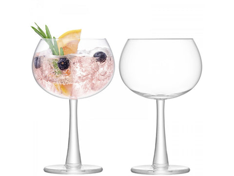 GIN Balloon Glass X 2 420ml