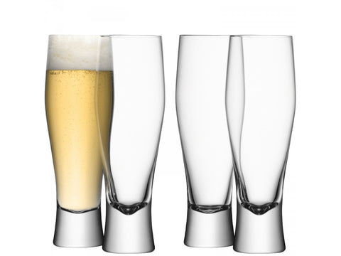 BAR Lager Glass X 4 550ml