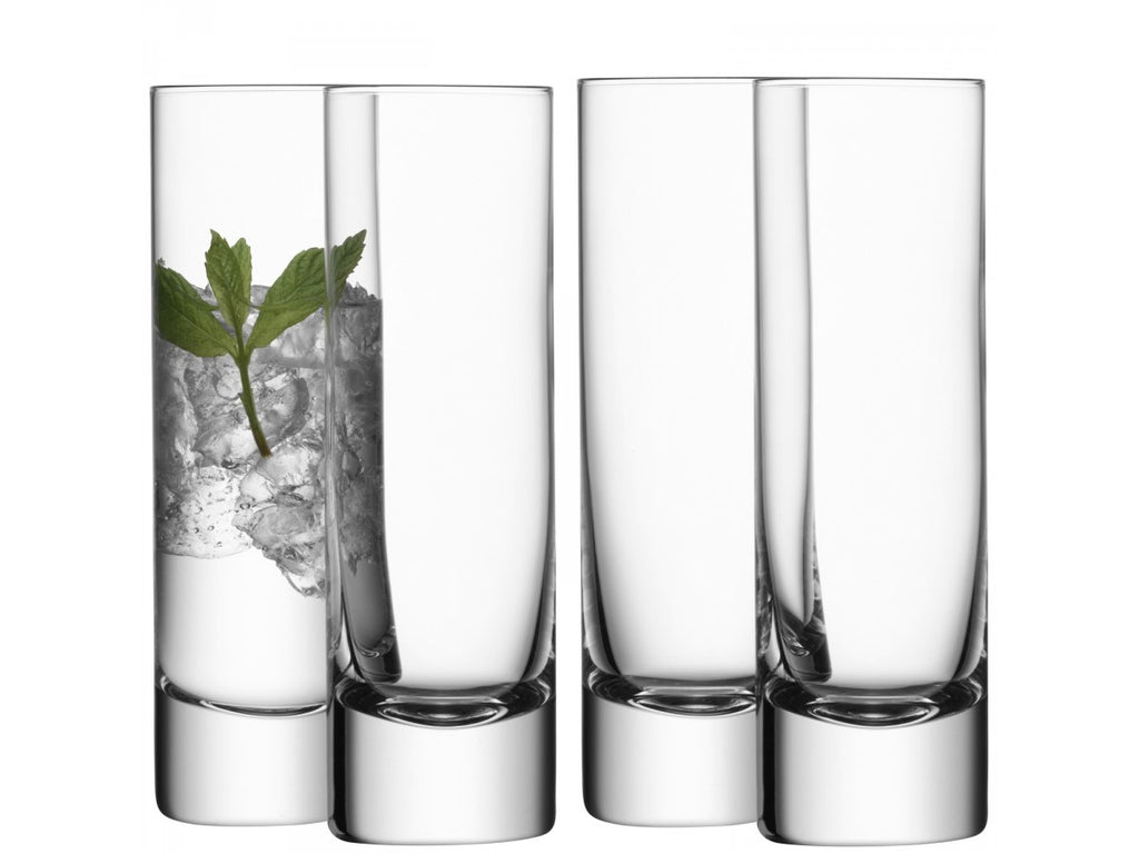 BAR Long Drink Glass X 4 250ml