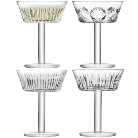 TATRA Champagne/Cocktail Glass X 4 150ml