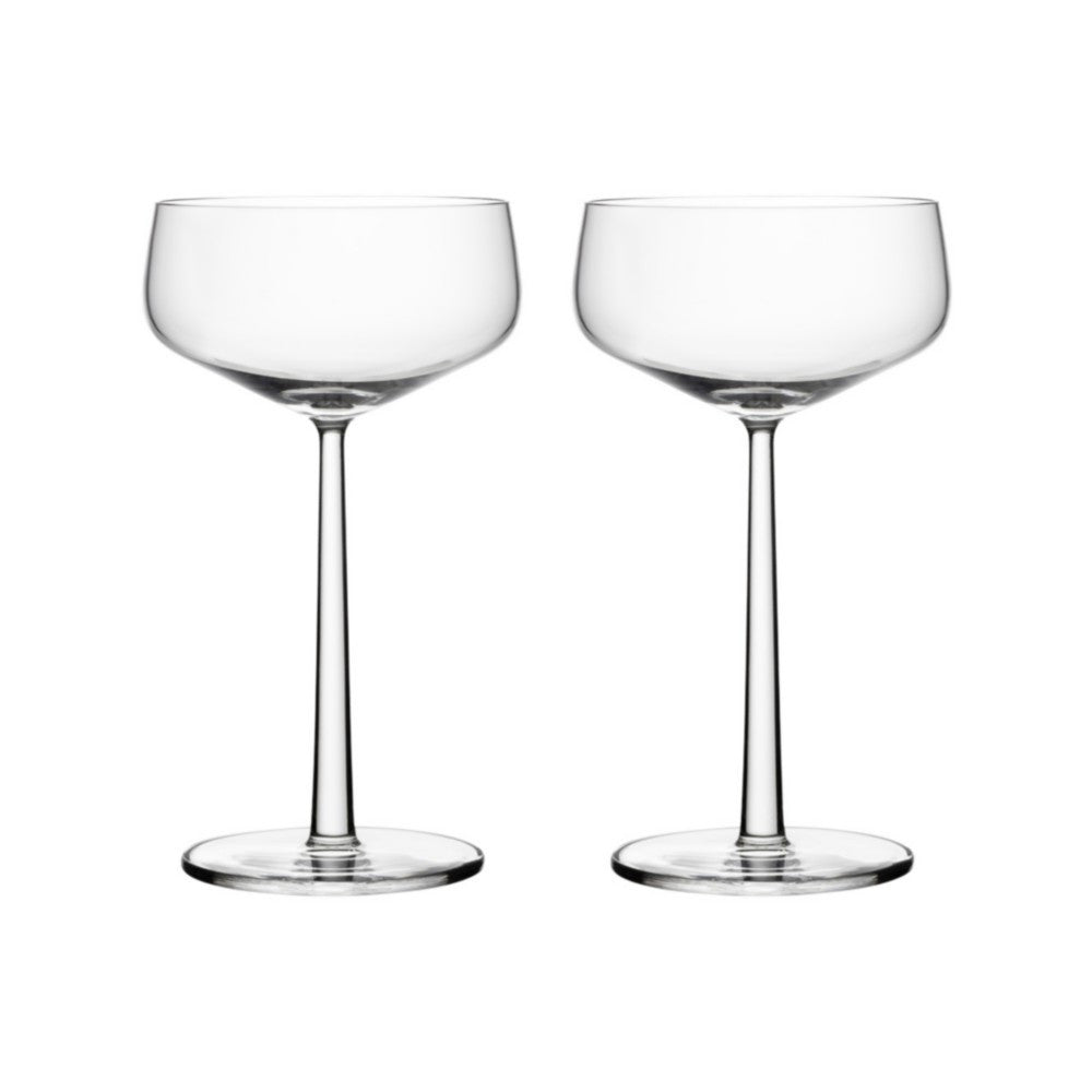 set of two cocktail glasses