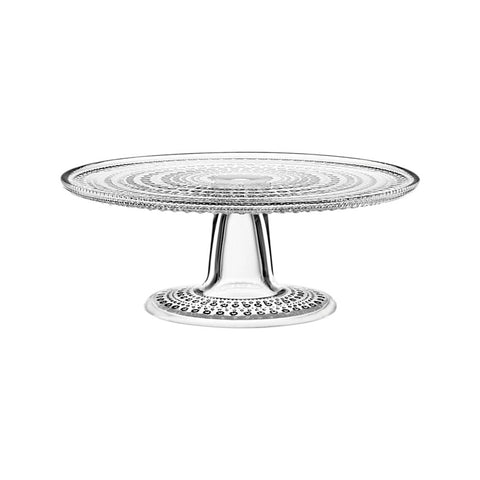 Sparkly glass cake stand