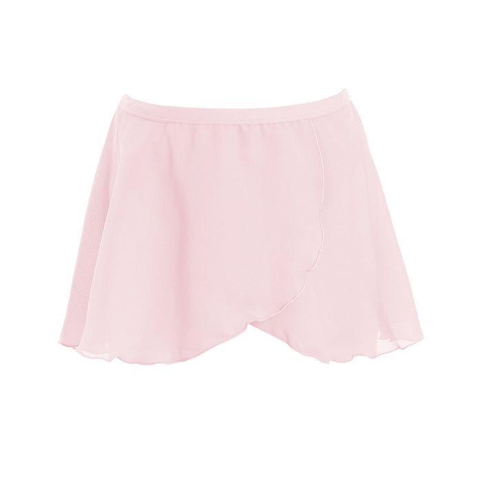 Energetiks Child's Mock Wrap Skirt Ballet Pink