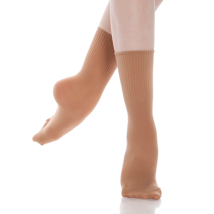 Ribbed Dance Sock Skintone $7.95
