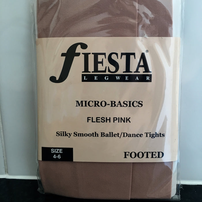 Fiesta Children's Ballet Tights Flesh Pink $13.95