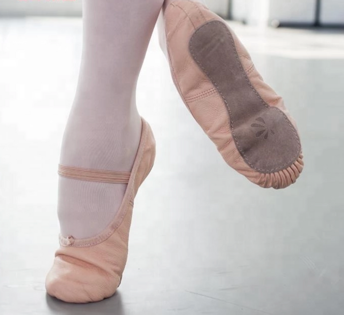 Leather Ballet Shoes Adults & Kids
