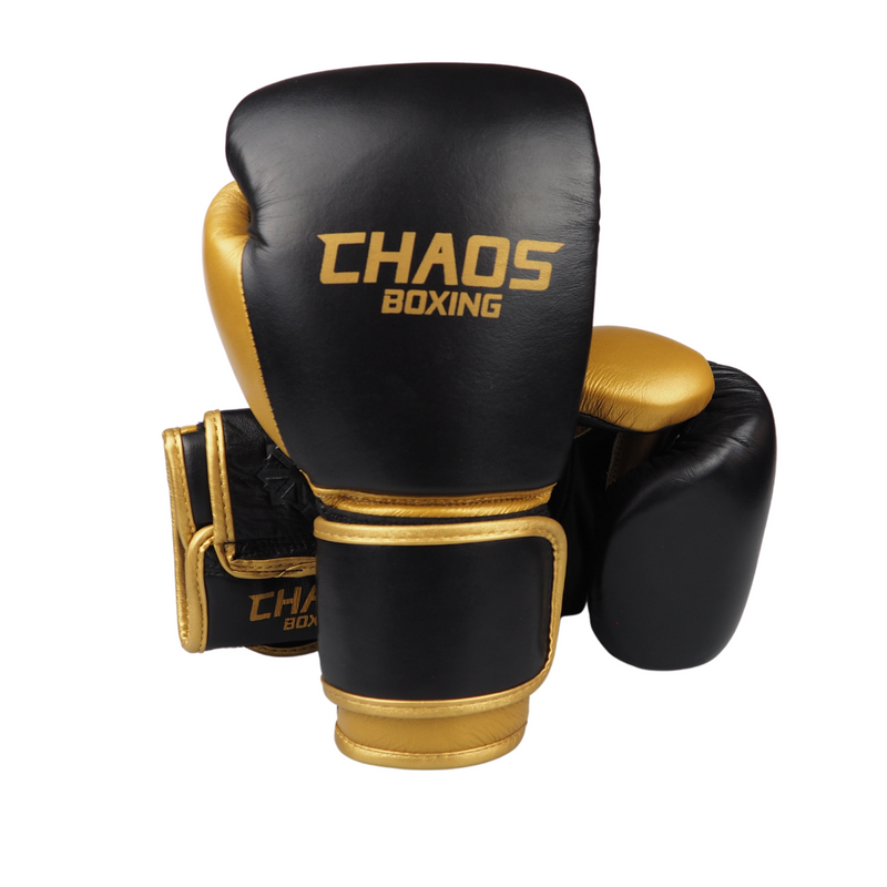 Junior Leather Boxing Gloves 8oz - CHAOS BOXING