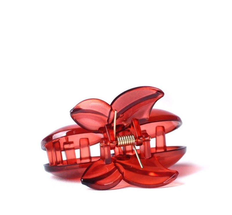 CHERRY HAIR CLIP, RED - dimsstudio