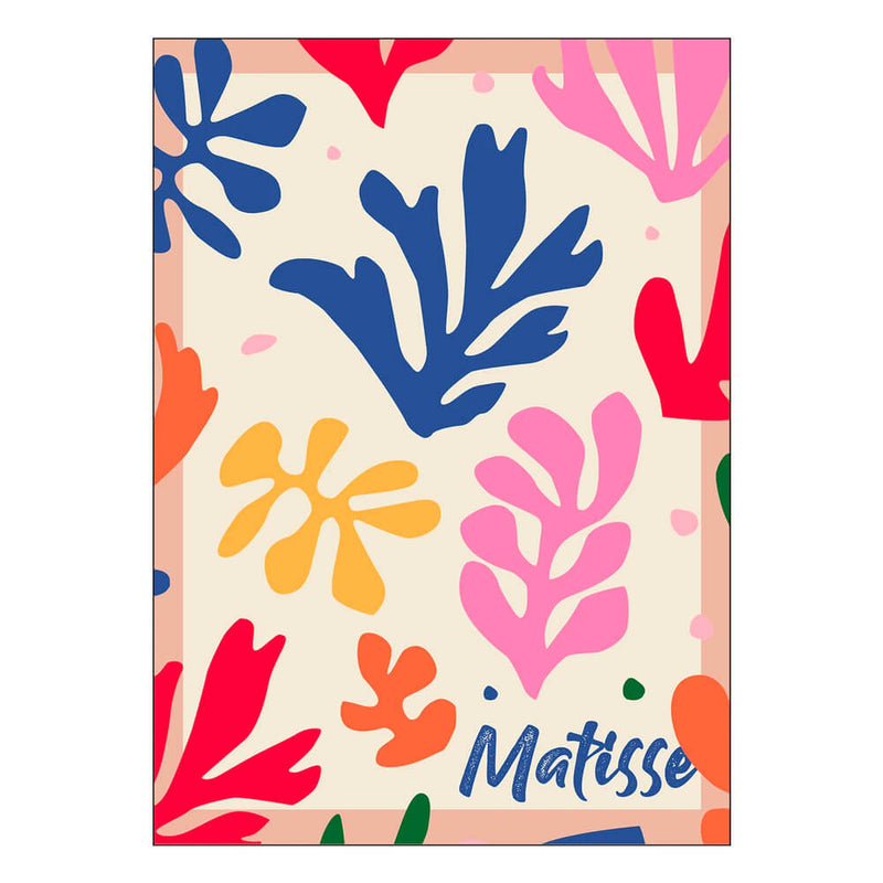 Henri Matisse Color cut outs plakat - 50x70 cm