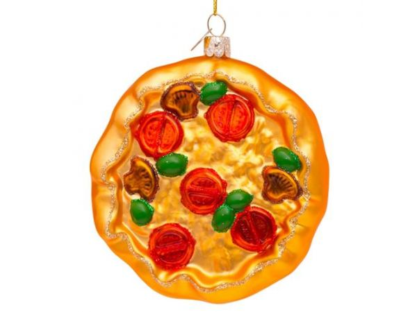 Pizza juleornament