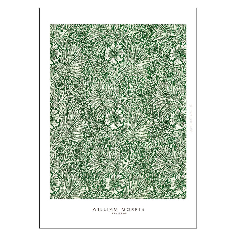 Greens - William Morris Poster - 50x70