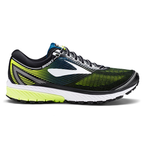 Black, white and nightlife men's Ghost 10 Running shoes from Brooks