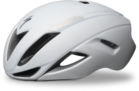 Classic White Specialized S-Works Evade Cycle Helmet