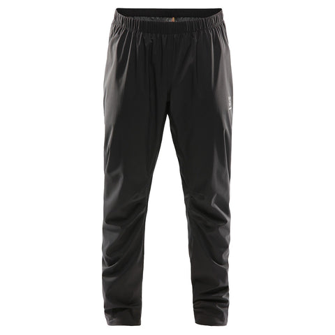 Black, Super lightweight packable trousers from Halgof suitable for trail and hiking
